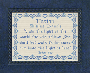 Name Blessings - Easton 3 | Crafting | Cross-Stitch | Other
