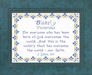 Name Blessings - Blakely | Crafting | Cross-Stitch | Other