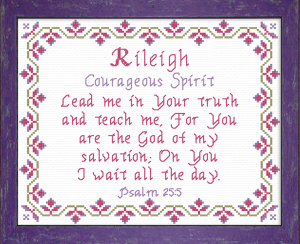 Name Blessings - Rileigh | Crafting | Cross-Stitch | Other