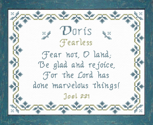 Name Blessings - Doris | Crafting | Cross-Stitch | Other