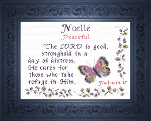 Name Blessings - Noelle 2   Crafting   Cross-Stitch   Other