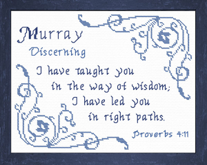 name blessings - murray