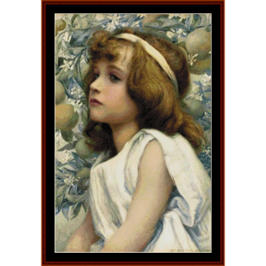 Florimel – Henry Ryland cross stitch pattern by Kathleen George at Cross Stitch Collectibles | Crafting | Cross-Stitch | Other