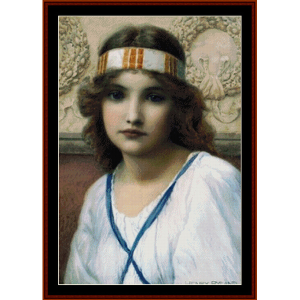 Purity – Henry Ryland cross stitch pattern by Kathleen George at Cross Stitch Collectibles | Crafting | Cross-Stitch | Other