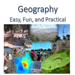 middle school geography workbook for an academic year - easy, fun, practical