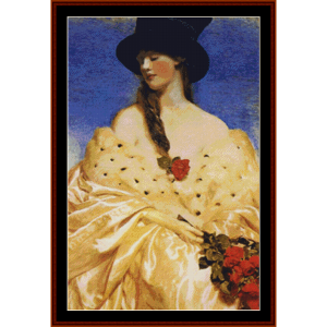 eve – frank c. cowper cross stitch pattern by kathleen george at cross stitch collectibles