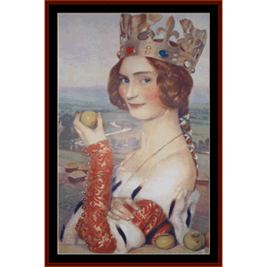a merciless beauty – frank c. cowper cross stitch pattern by kathleen george at cross stitch collectibles