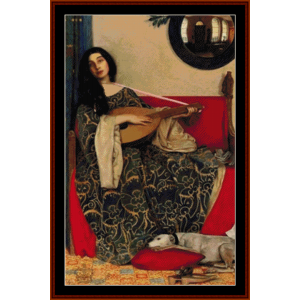 marianna in the south – frank c. cowper cross stitch pattern by kathleen george at cross stitch collectibles
