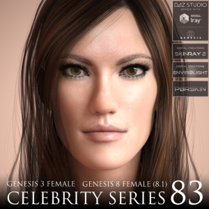 celebrity series 83 for genesis 3 and genesis 8 female (8.1)
