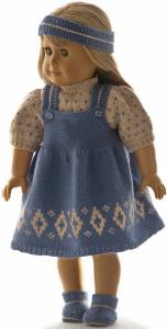 dollknittingpatterns  0216d dortea - trui,  rok,  broekje, schoentjes en muts-(nederlands)