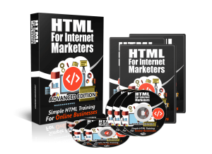 html for internet marketers advanced: video training course