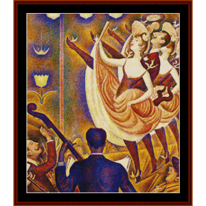 Chahut II – Georges Seurat cross stitch pattern by Kathleen George at Cross Stitch Collectibles | Crafting | Cross-Stitch | Other