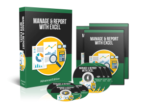 manage & report with excel advanced: video training course
