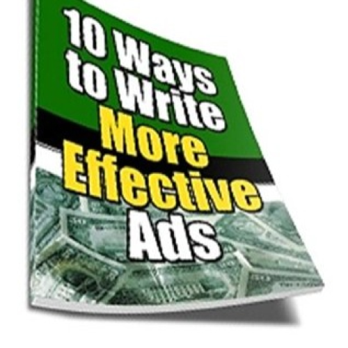 First Additional product image for - 10 Ways to Write More Effective Ads