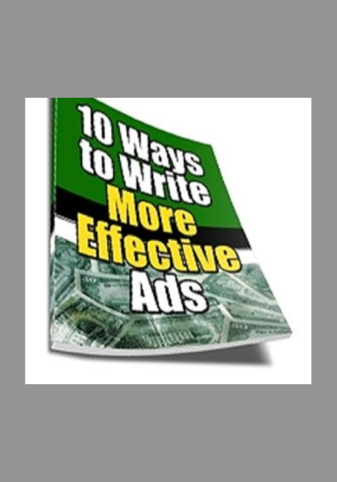 Second Additional product image for - 10 Ways to Write More Effective Ads