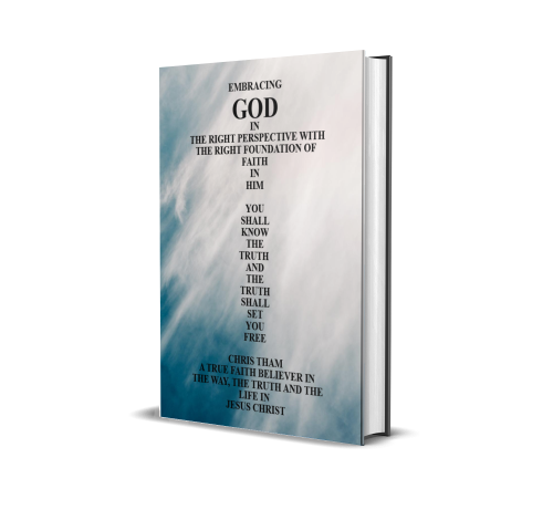 Fourth Additional product image for - Embracing God In The Right Perspective With The Right Foundation of Faith In Him - Volume I