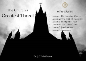 the church's greatest threat 6 part series