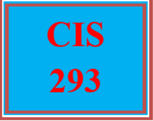 CIS 293 All Discussions | eBooks | Education