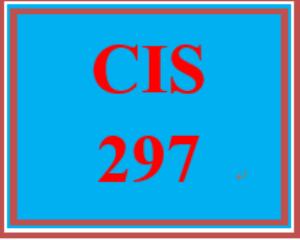 CIS 297 Wk 2 Apply - Module 15 Test | eBooks | Education