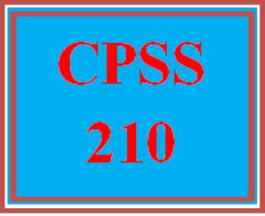 CPSS 210 Wk 4 - Corrections Presentation   eBooks   Education