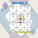 QiMenBaZi 2021 Excel | Documents and Forms | Spreadsheets