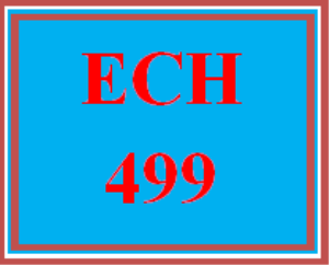 ech 499 wk 3 discussion - rules and procedures