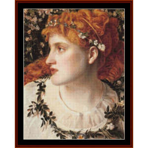 perdita – anthony f. sandys cross stitch pattern by kathleen george at cross stitch collectibles
