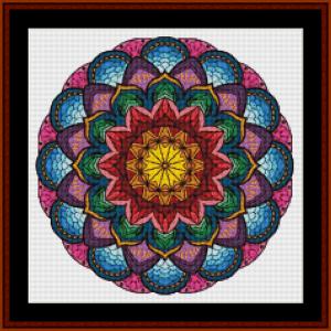 mandala 69 cross stitch pattern by kathleen george at cross stitch collectibles mandala  cross stitch pattern by kathleen george at cross stitch collectibles