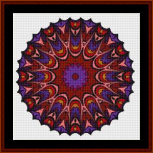 mandala 70 cross stitch pattern by kathleen george at cross stitch collectibles mandala  cross stitch pattern by kathleen george at cross stitch collectibles