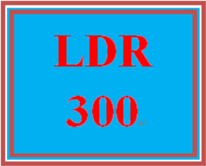 ldr 300t wk 3 discussion - decision-making and leadership style