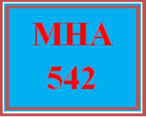 mha 542 wk 6 - self-reflection