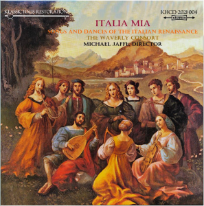songs and dances of the italian renaissance - the waverly consort