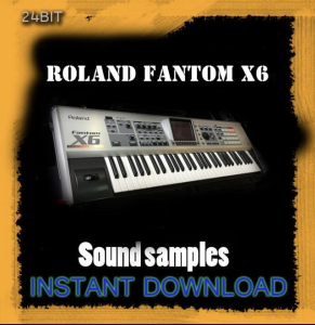 roland fantom x6 sound library