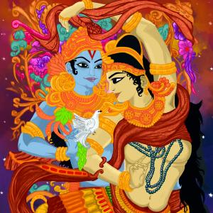radhakrishna - epitome of love