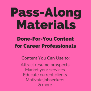 Using Indeed In Your Job Search Pass-Along Materials | Documents and Forms | Resumes