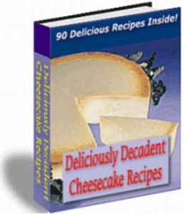deliciously decadent cheescake recipes