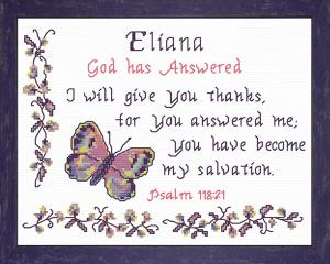 name blessings - eliana 2