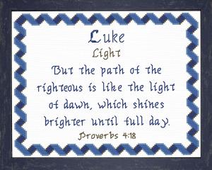 name blessings - luke 5