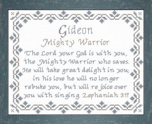 name blessings - gideon 3