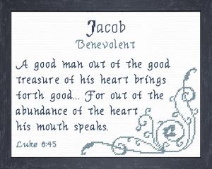 name blessings - jacob 4