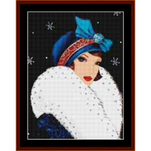 Santa Knows My Secrets - Christmas cross stitch pattern by Kathleen George at Cross Stitch Collectibles | Crafting | Cross-Stitch | Other