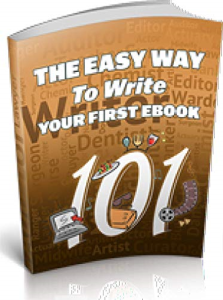 the easy way to write your first e-book