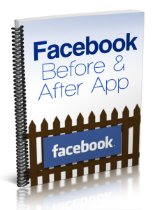 facebook before and after app
