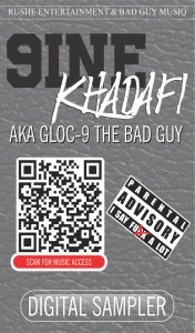 gloc-9 the bad guy aka 9ine khadafi sampler