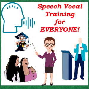 speech vocal training for everyone! by  alex~