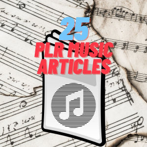 plr music articles