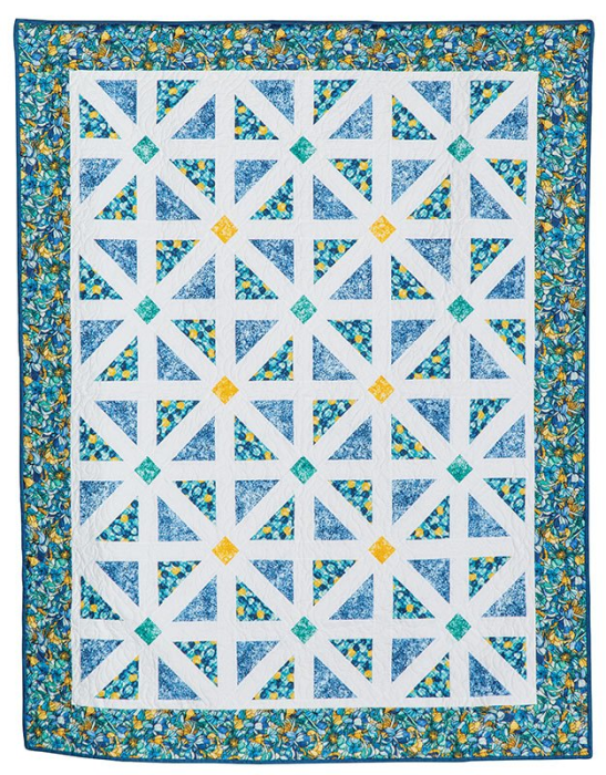 First Additional product image for - Dew Drop Inn Lap Quilt Pattern