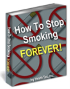 how to stop smoking forever!