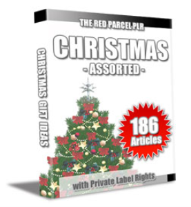 186 christmas assorted plr articles