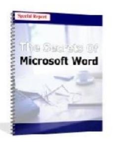 the secrets of microsoft word